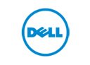 Logo of Dell, a company using Midori apps