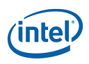 Logo of Intel, a company using Midori apps