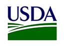 Logo of USDA, a company using Midori apps