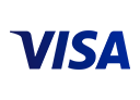 Logo of Visa, a company using Midori apps