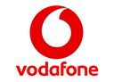 Logo of Vodafone, a company using Midori apps