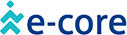 Logo of e-core, a company who licenses and implements Midori products