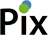 Logo of Pix Software, a company who licenses and implements Midori products